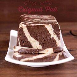 Щербет шоколадно ванильный