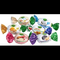 Конфеты сухофрукты в шоколаде Amanti в ассортименте