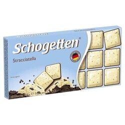 Шоколад Schogetten белый с кусочками зерен какао 100г