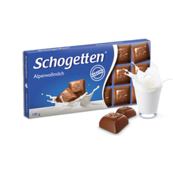 Шоколад Schogetten молочный альпийское молоко 100г
