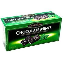 Конфеты Maitre Truffout шоколад мята  200г