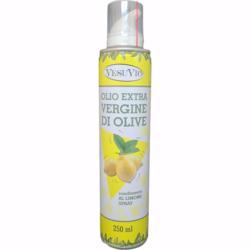 Масло оливковое VesuVio Olio extra vergine с лимоном спрей 250мл