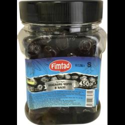 Маслины Fimtad чёрные вяленые 450г