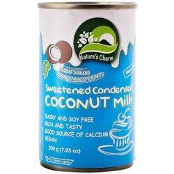 Молоко сгущеное кокосвое Natures Charm 200г